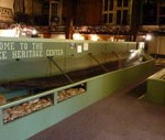 18th c. Cherokee canoes at the Oconee Heritage Center