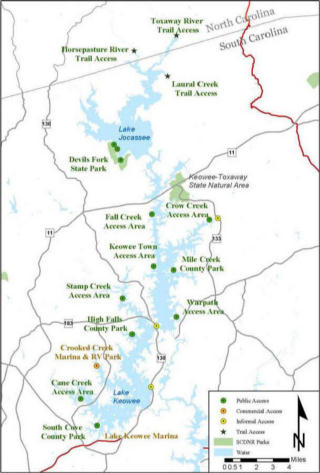 map of lake keowee Artist In Residence Part Ii Tips For Making The Most Out Of Your map of lake keowee