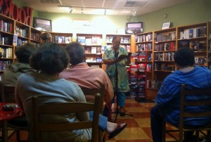 Ann Hite reading from The Storycatcher at Malaprop's Bookstore ~ Asheville, NC