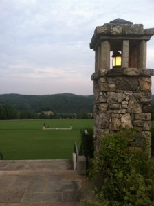 View from the Clubhouse, The Reserve at Lake Keowee Artist-in-Residence, Sunset, SC