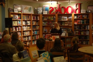 Reading at Malaprops Bookstore & Café, Asheville, NC