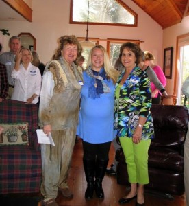 "My big pregnant belly & I, with ""the Jeanies"" at Lake Cherokee, book brunch, Tamassee, SC"