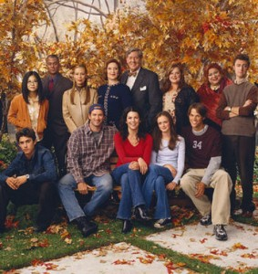 The cast of the Gilmore Girls