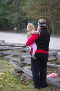 Katie & Wylie & elk