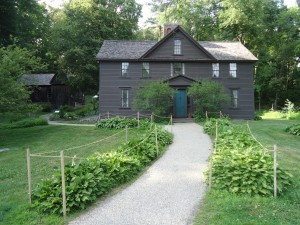 Orchard House, home of Louisa May Alcott