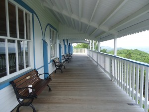 Porch at Summit House