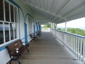 Porch at Summit House