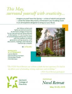 VCFA Flyer