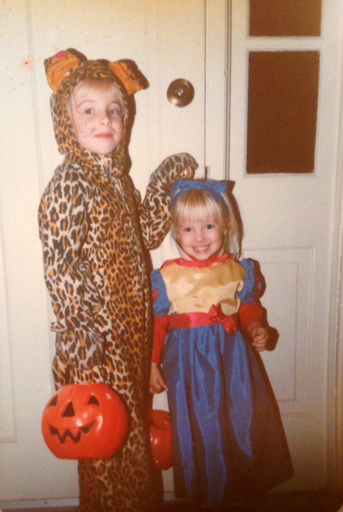 My Little Sister And Me, Circa 1985