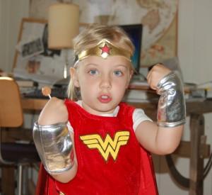 Wonder Woman, age 3