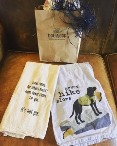 Readers get me. These tea towels came from Dogwood gifts in Flat Rock, N.C.
