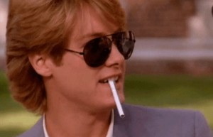 "This is Steff, from ""Pretty in Pink."" He's a punk."