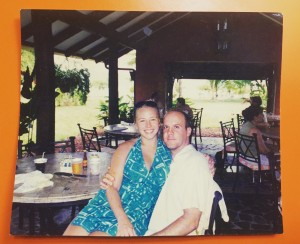 Taken on our honeymoon in Costa Rica, 2004.