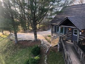 One corner of Earthshine Lodge
