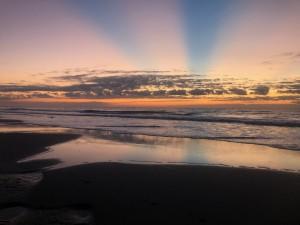 Sunrise on the coast of South Carolina